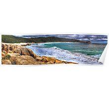 Salmon Holes Panorama Poster