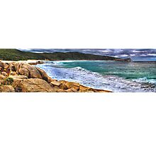 Salmon Holes Panorama Photographic Print