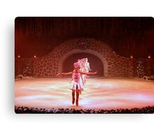 Christmas On Ice ~ Part Five Canvas Print