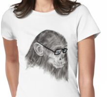 chimpstein Womens Fitted T-Shirt