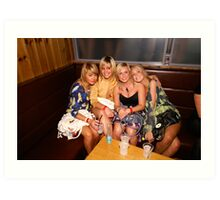 Four Girls Art Print