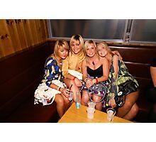 Four Girls Photographic Print