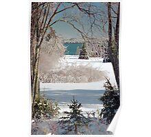 Icey Winter Wonderland  Poster