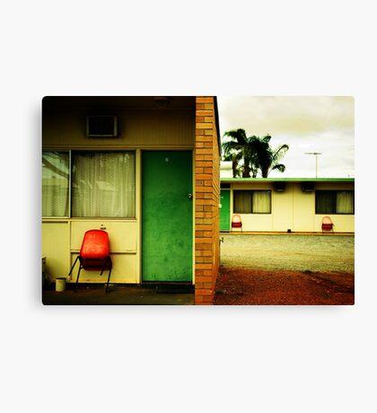 Motel Moribundity Canvas Print