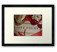 'Cause love is not between men & women only... Framed Print
