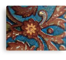 Macro Porcelain Canvas Print