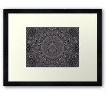 ABSTRACT ART WEB Framed Print
