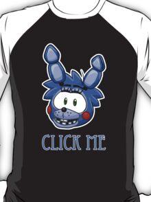 Bonnie FNAF Click Me T-Shirt