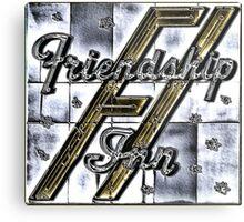 Friendship Inn Metal Print