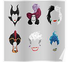 6 Villains Poster