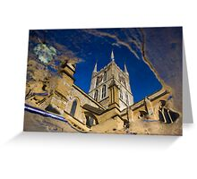 Southwark Cathedral - London Greeting Card