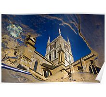 Southwark Cathedral - London Poster