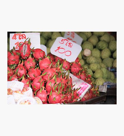 Exotic Fruits of Thailand Photographic Print