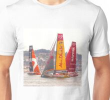 Abu Dhabi. Volvo Ocean Race team 2015. Lisbon. Portugal Unisex T-Shirt