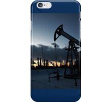 oil pump iPhone Case/Skin