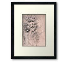 Clockwork Geisha Framed Print