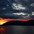 Dawn over the fjords by FraserJ