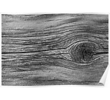 Wood Knot Poster