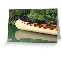 Kodachrome Canoe Greeting Card