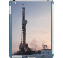 Drilling rig. iPad Case/Skin