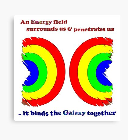 Galaxy Together Canvas Print