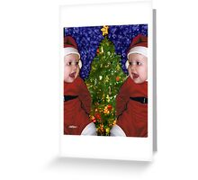 Gracie's Christmas Tree Greeting Card