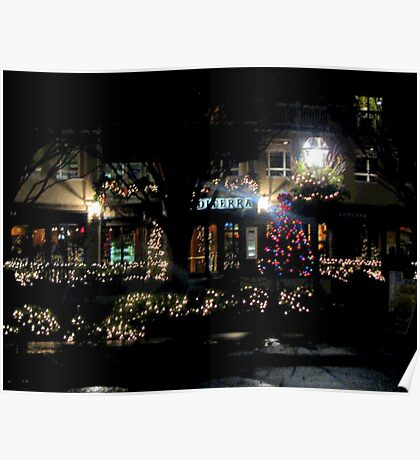 Near Christmas in Princeton  Poster