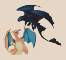 Charizard vs Toothless Night Fury by ChaneCollect