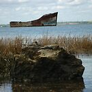 Rusty Old Boat - Shot 1 by Danny  Thrussell
