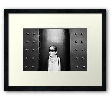 Girder Girl Framed Print