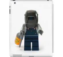 Welder Minifig iPad Case/Skin