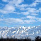 Winter Morning Sunrise ~Ben Lomond Peak & Willard Peak in Utah by Jan  Tribe