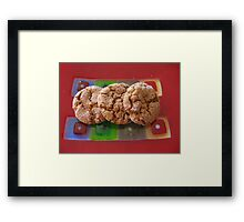 Art Glass Ginger Cookies Framed Print