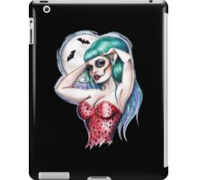 Gothabilly night of the dead iPad Case/Skin