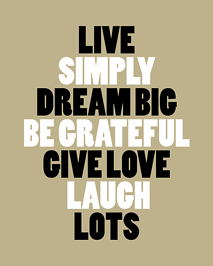 LIVE SIMPLY by TheLoveShop