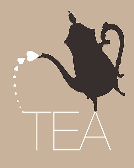 I HEART TEA by TheLoveShop