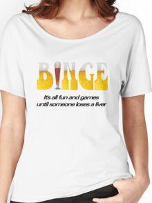Binge Women's Relaxed Fit T-Shirt