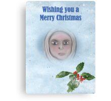 Mary.......Christmas Canvas Print