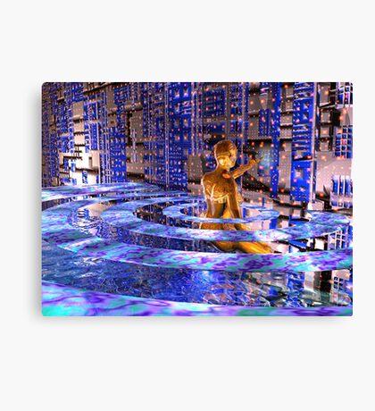 Cybergal's Transporter Canvas Print