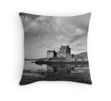 Moody Eilean Donan Throw Pillow