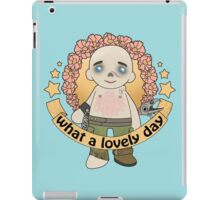 What a Lovely Day iPad Case/Skin