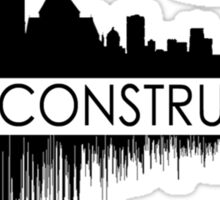 The Reconstruction Logo Sticker