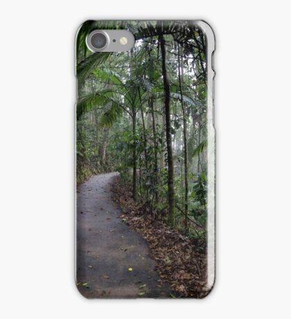 Rainforest painting iPhone Case/Skin