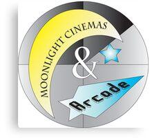 Moonlight Cinemas and Arcade Canvas Print