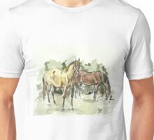"""""""At the field"""" Unisex T-Shirt"""