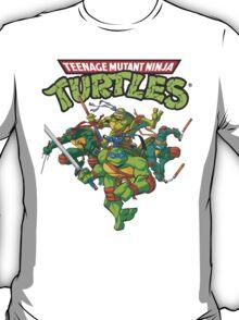 Teenage Mutant Ninja Turtles Inspired Animation Cartoon  T-Shirt