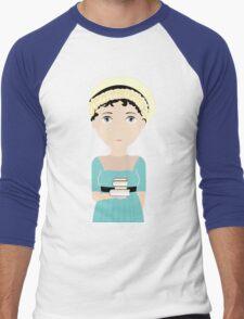 Jane Austen Men's Baseball ¾ T-Shirt
