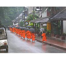 The Littlest Monk Photographic Print