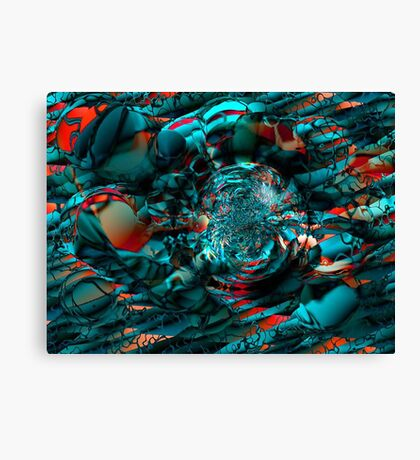 Lava Birth Canvas Print