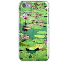 Beauty of Lotus in Pond iPhone Case/Skin